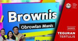 """Tampilkan Muatan Transgender, KPI Pusat Beri Sanksi """"Brownis Tonight"""" Trans TV"""