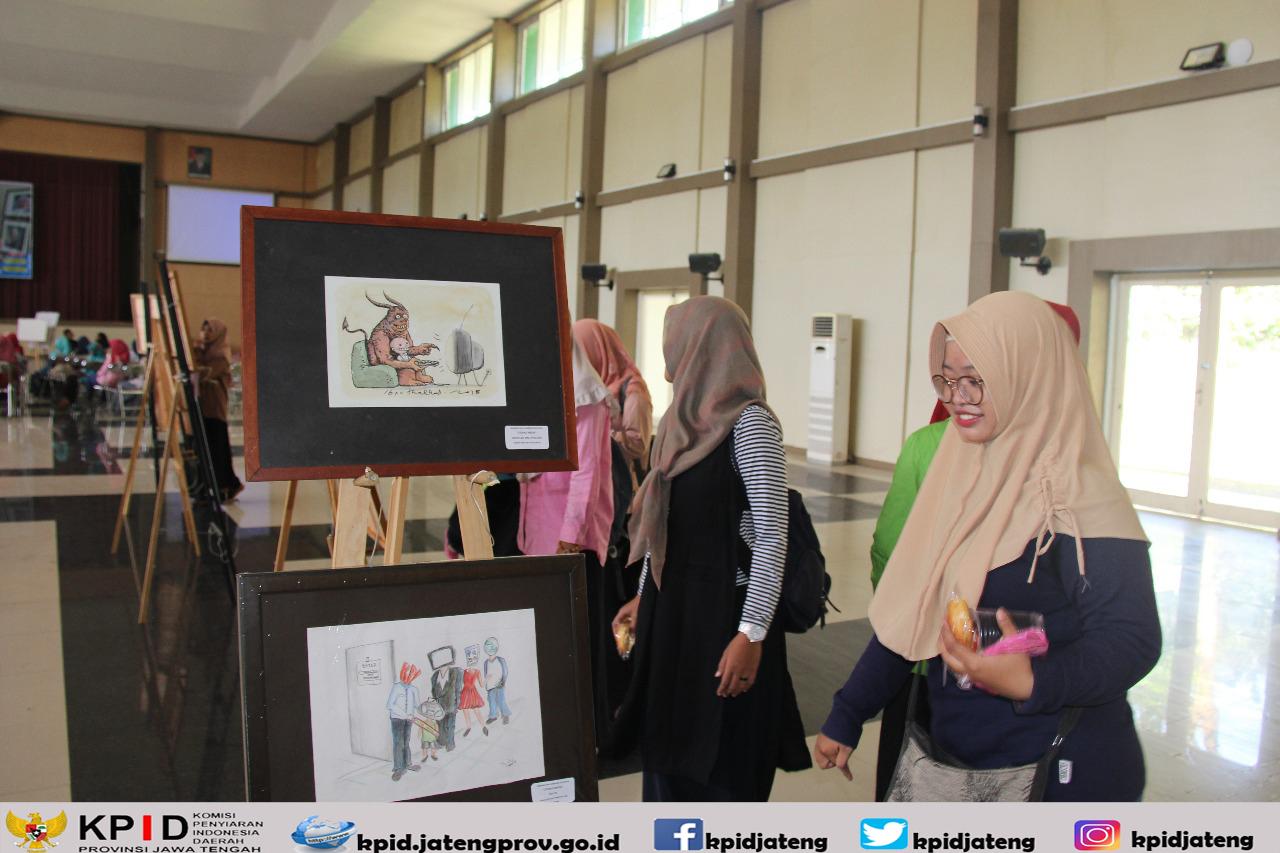 Literasi Media Lewat Kartun Kpid Jateng